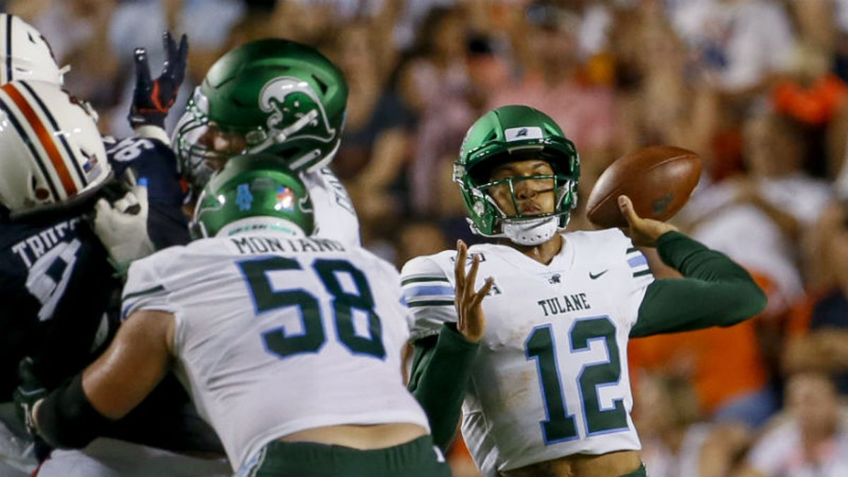 Houston vs. Tulane Betting Odds & Picks: Is Market Too High on Green Wave? article feature image