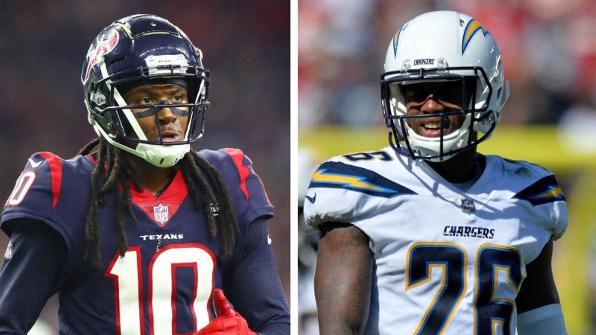 NFL Week 3 WR/CB Matchups: Can Casey Hayward Jr. Shut Down DeAndre Hopkins? article feature image