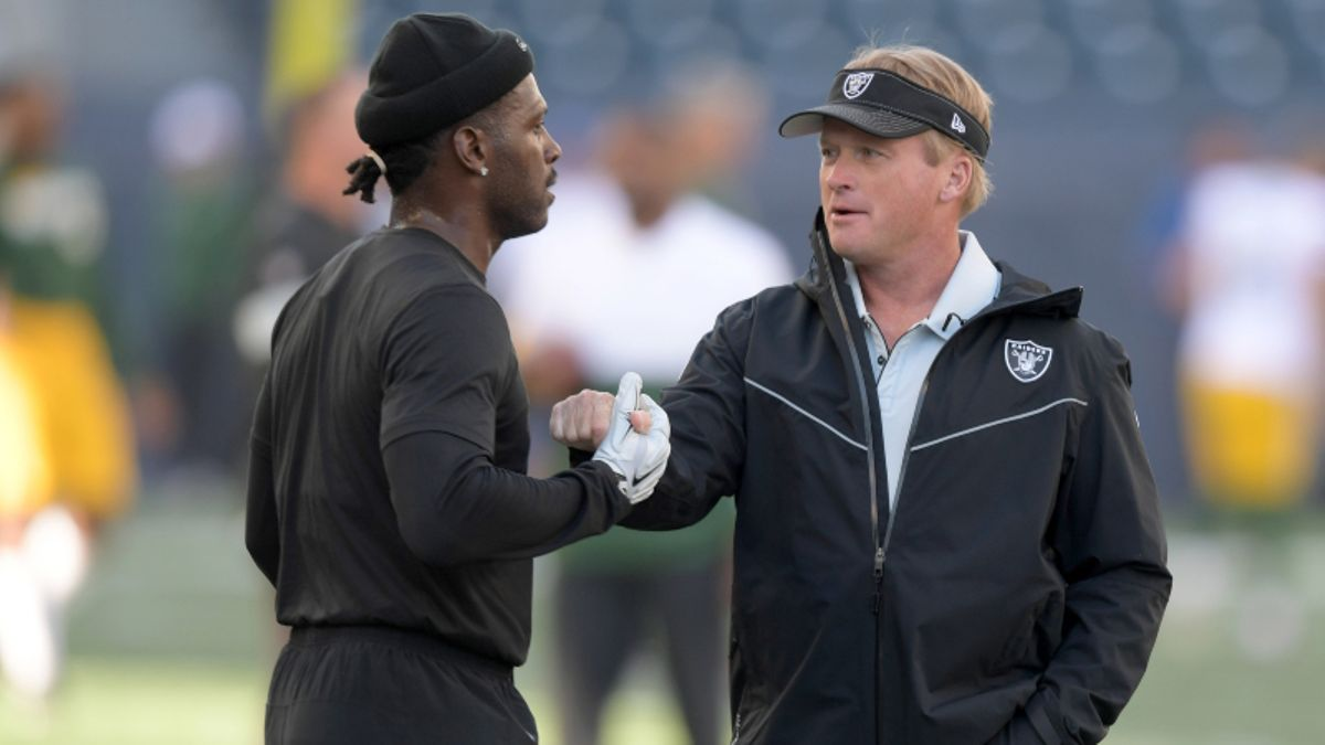 Potential Antonio Brown Suspension Causes Broncos vs. Raiders Line Movement article feature image