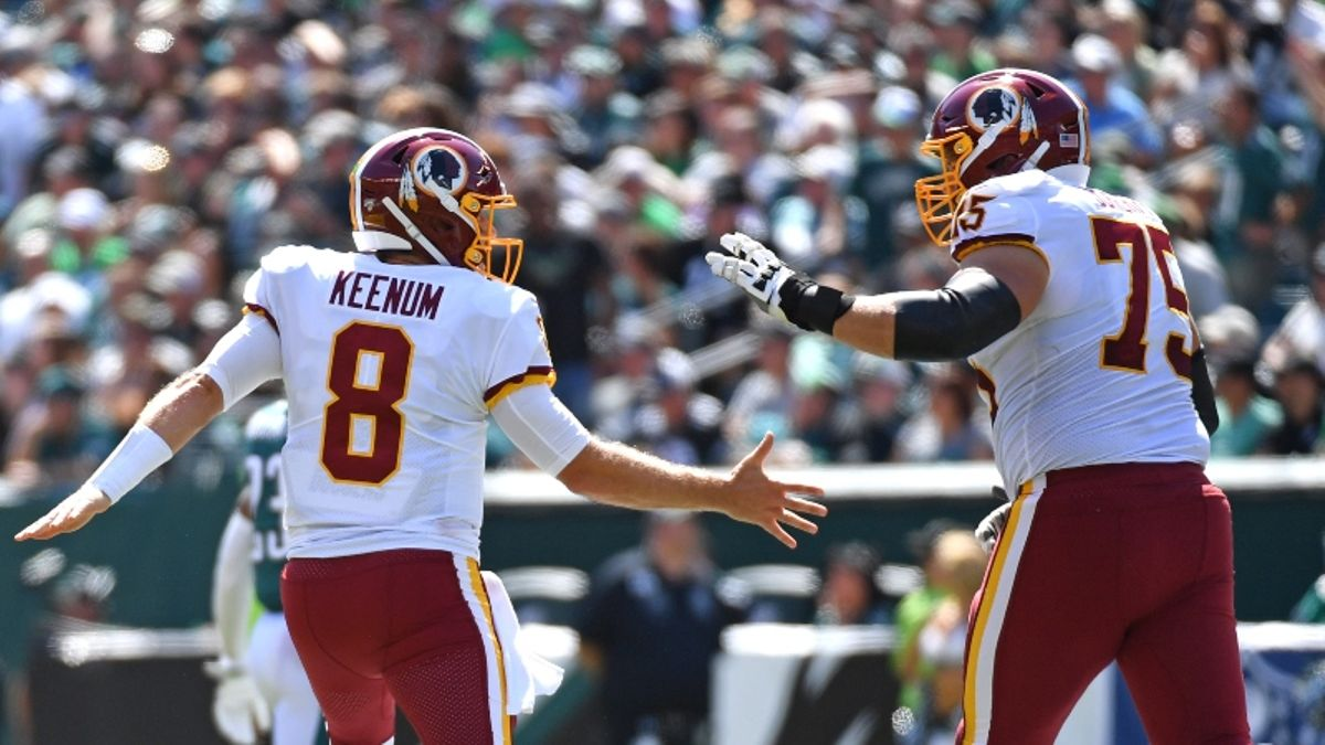 Redskins vs. Bears Betting Cheat Sheet: Odds, Picks & More for Monday Night Football article feature image