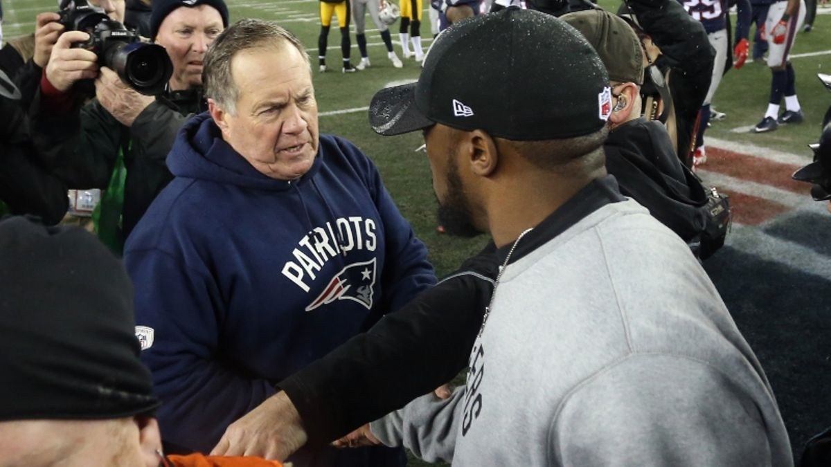 Big-Money Bets Have Steelers-Patriots Over/Under on the Move article feature image