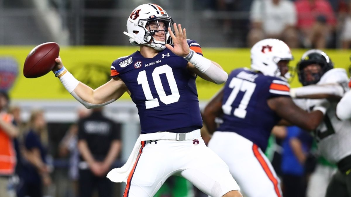 Auburn-Texas A&M Betting Odds & Pick: Can Bo Nix & Tigers Best Stout Aggies Defense? article feature image