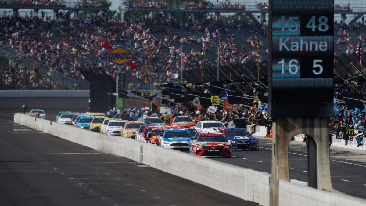 NASCAR at Indianapolis: An Early Bet to Make for Sunday's Brickyard 400 article feature image