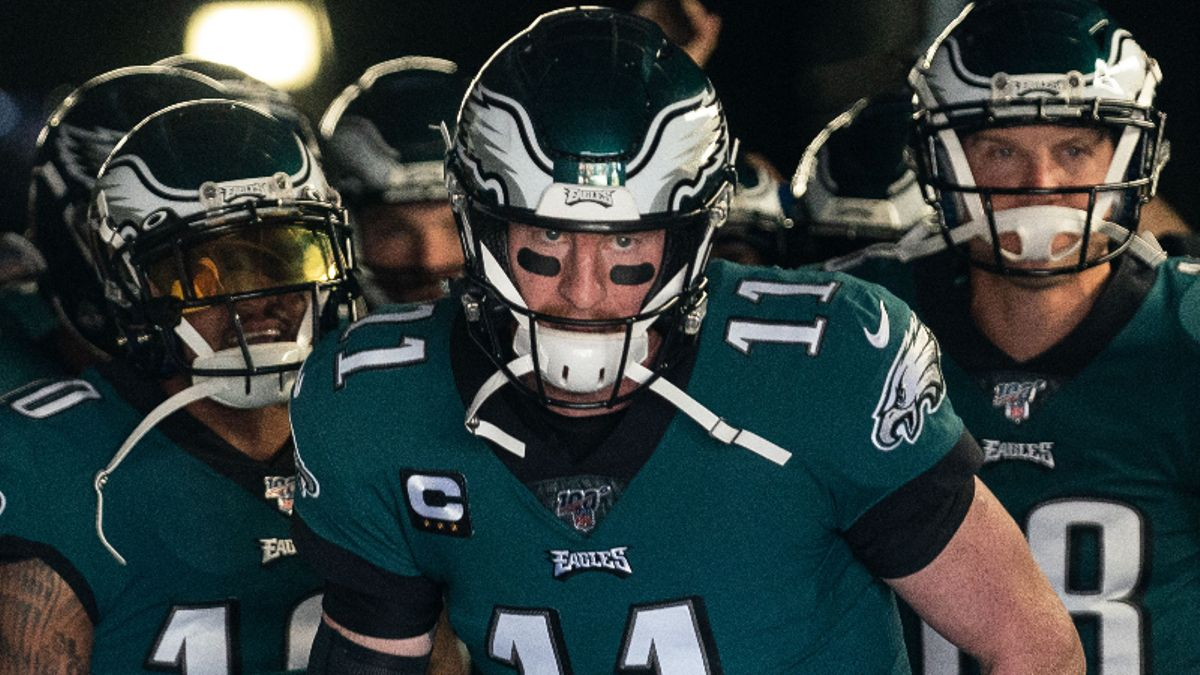 2 Best Eagles-Falcons Prop Bets: Will Carson Wentz Shine in Primetime? article feature image