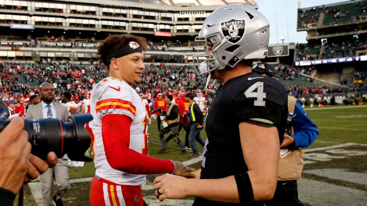 Chiefs vs. Raiders Betting Odds & Picks: Should KC Be This Big a Road Favorite? article feature image