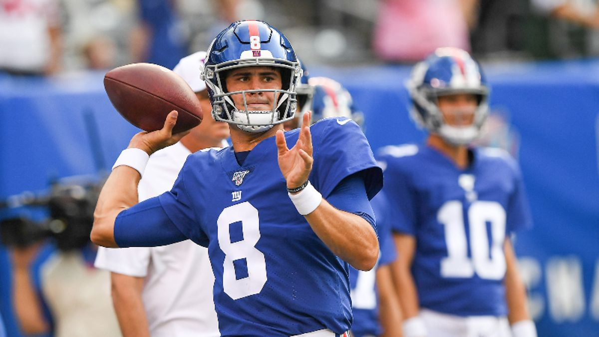 Redskins vs. Giants Betting Picks & Odds: Can Washington Keep Pace Without Terry McLaurin? article feature image