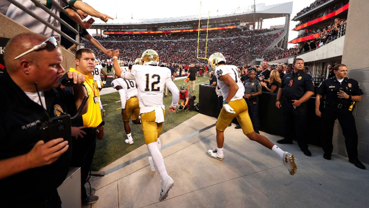 College Football Betting Picks: Our Staff's 6 Favorite Bets for Saturday Games article feature image