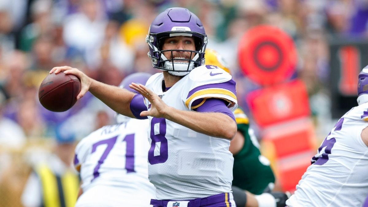Eagles vs. Vikings Betting Odds & Picks: Trust Kirk Cousins to Exploit Philly? article feature image