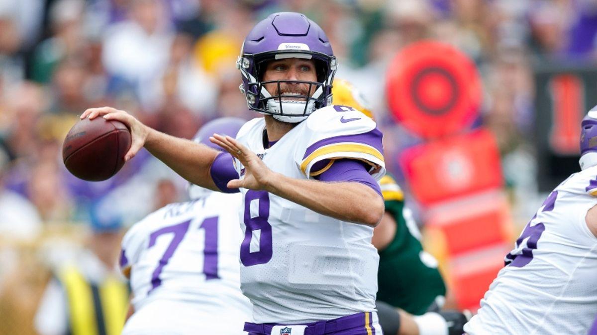 Raiders vs. Vikings Odds, Picks & More article feature image