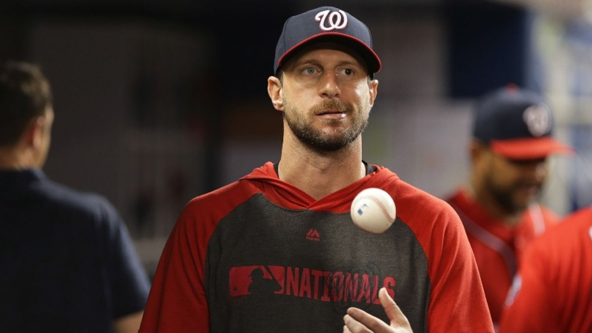 Updated World Series Game 5 Astros-Nationals Odds With Max Scherzer Scratched article feature image