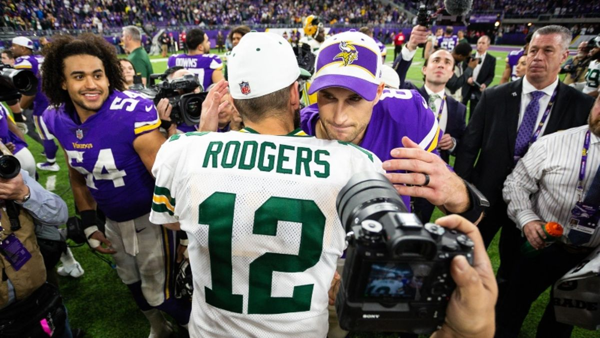 Vikings vs. Packers Betting Odds & Picks: Green Bay Undervalued at Lambeau? article feature image