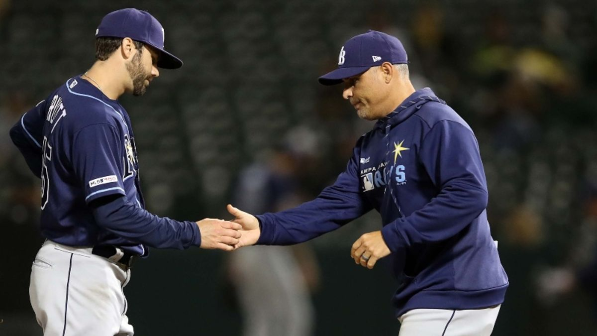 How Sharps Are Betting Blue Jays vs. Rays MLB Matchup article feature image