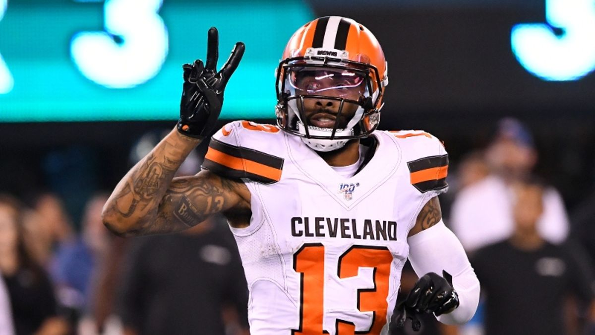 NFL Sharp Report: How Pros Are Betting Browns vs. Patriots article feature image