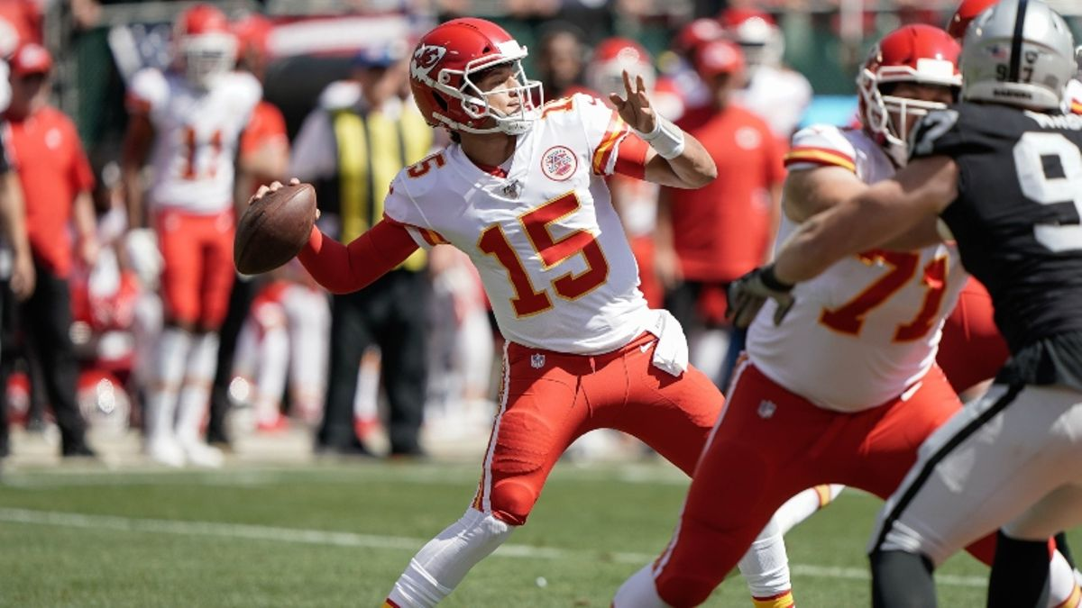 Ravens vs. Chiefs Betting Odds & Picks: Will Patrick Mahomes Meet His Match? article feature image