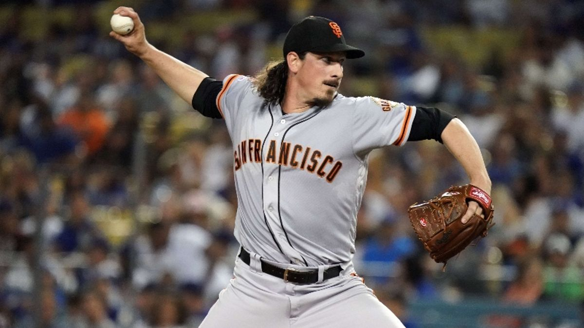 Zerillo's MLB Daily Betting Model, Sept. 18: Back Samardzija, Giants to Upend Red Sox at Fenway? article feature image