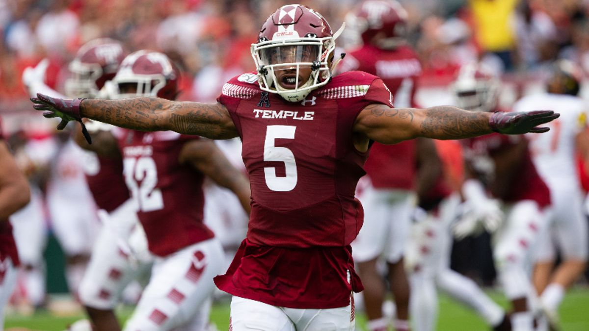 Thursday College Football Betting Picks & Odds: Temple-USF & Louisiana-Coastal Carolina article feature image