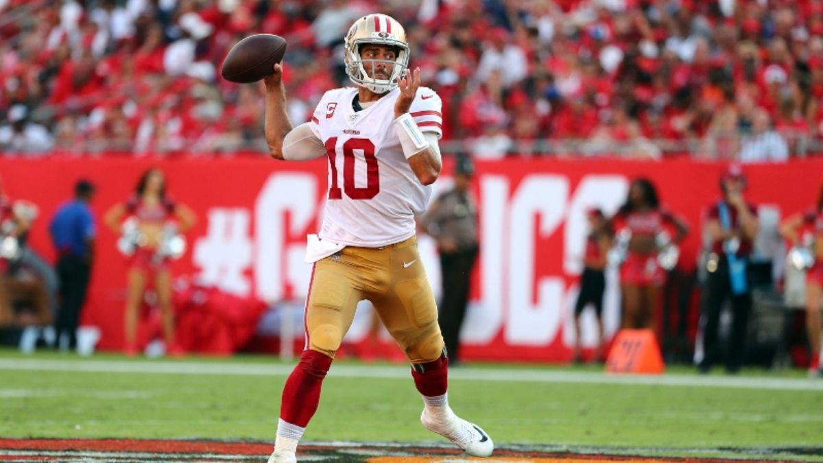 Steelers vs. 49ers Betting Odds & Picks: Mason Rudolph Has His Hands Full article feature image
