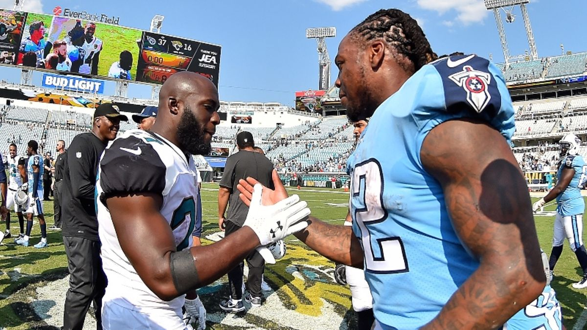 Titans vs. Jaguars Odds, Picks & Cheat Sheet for Thursday Night Football article feature image
