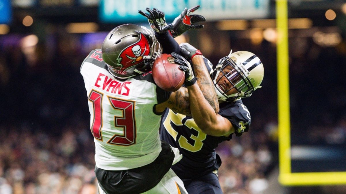 NFL Week 5 WR/CB Matchups: Mike Evans Will Take Marshon Lattimore Deep article feature image