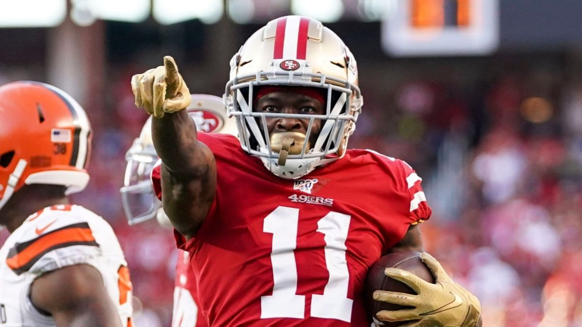 Thursday Night Football Prop Bets & Picks: 3 Best Plays for 49ers vs. Cardinals article feature image