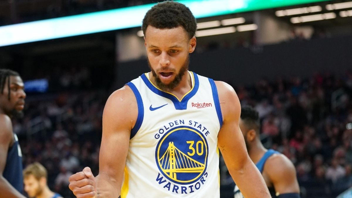 Monday's Best NBA Player Prop Bets: Can Steph Curry Grab 6 Boards? article feature image