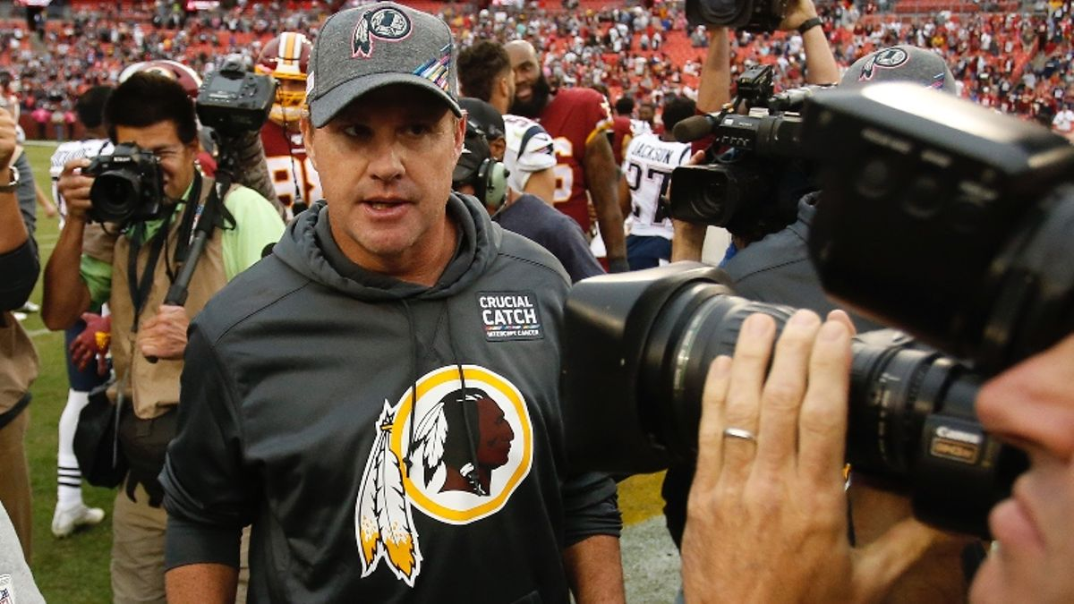 What Should Bettors Expect from the Redskins After Firing Jay Gruden? article feature image