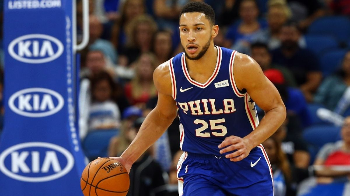Ben Simmons' NBA MVP Odds: Will Joel Embiid Steal Votes? article feature image