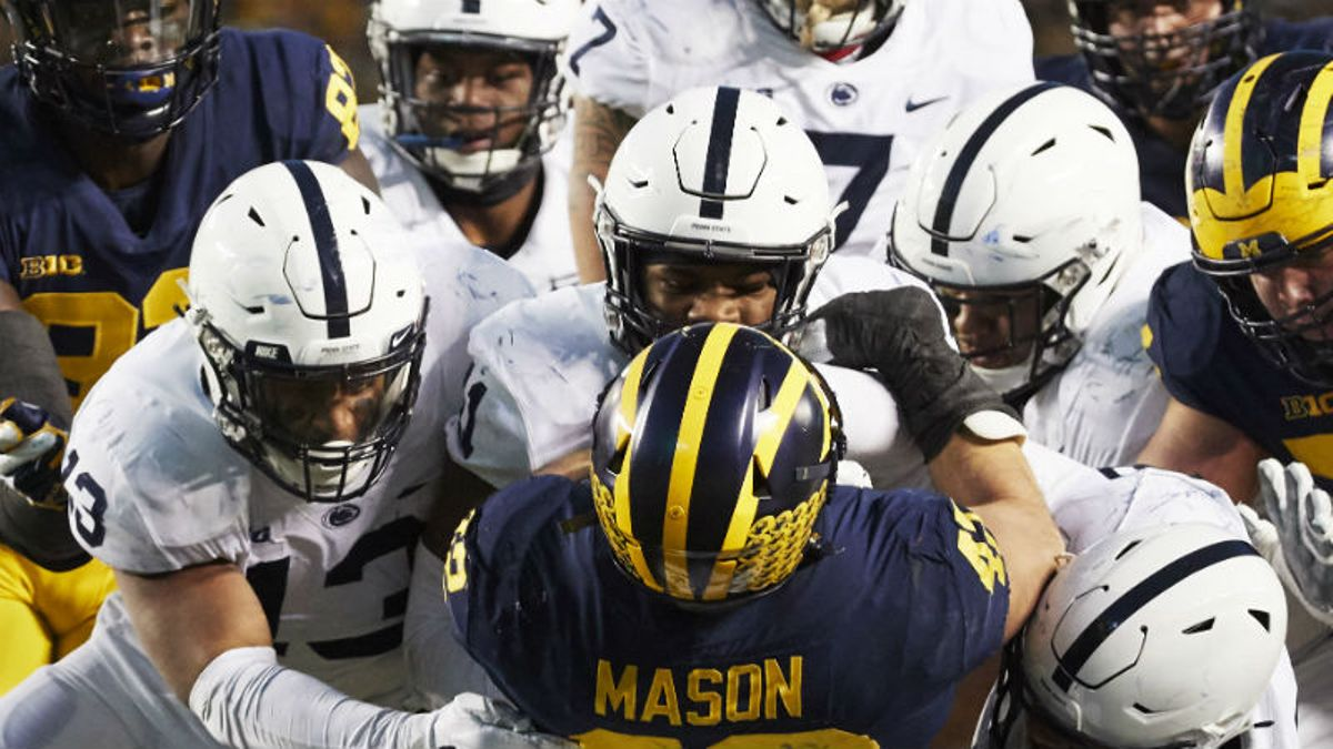Michigan vs. Penn State Odds & Pick: Will Wolverines Offense Finally Break Through? article feature image