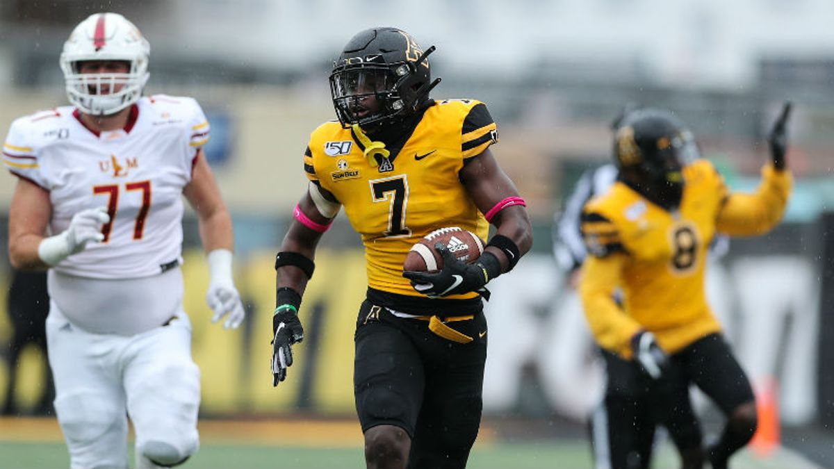 Georgia Southern vs. Appalachian State Odds & Pick: Can Eagles Get Option Offense Going in Rain? article feature image