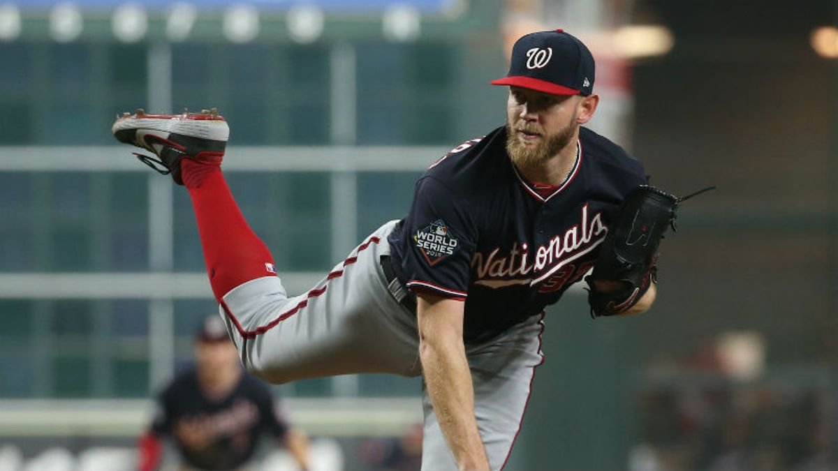 World Series Game 6 Betting Picks, Odds & Predictions for Nationals vs. Astros: Bet on Strasburg vs. Verlander? article feature image