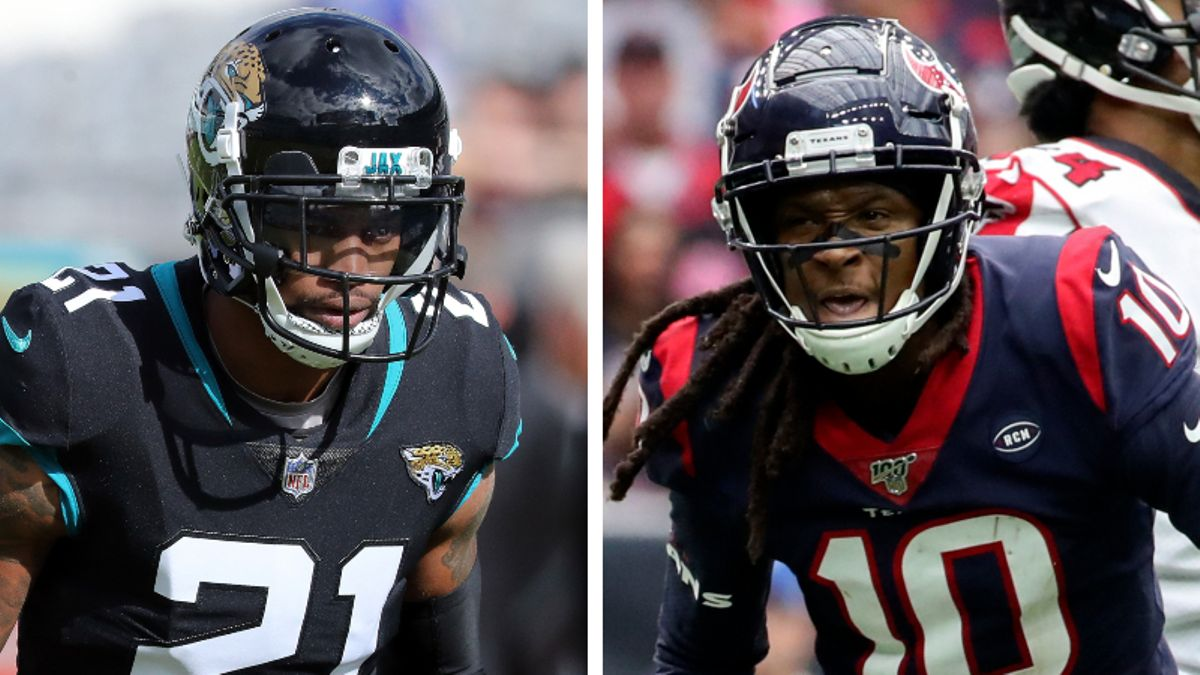 Grading Week 9 NFL WR/CB Matchups: Will A.J. Bouye Shut Down DeAndre Hopkins? article feature image