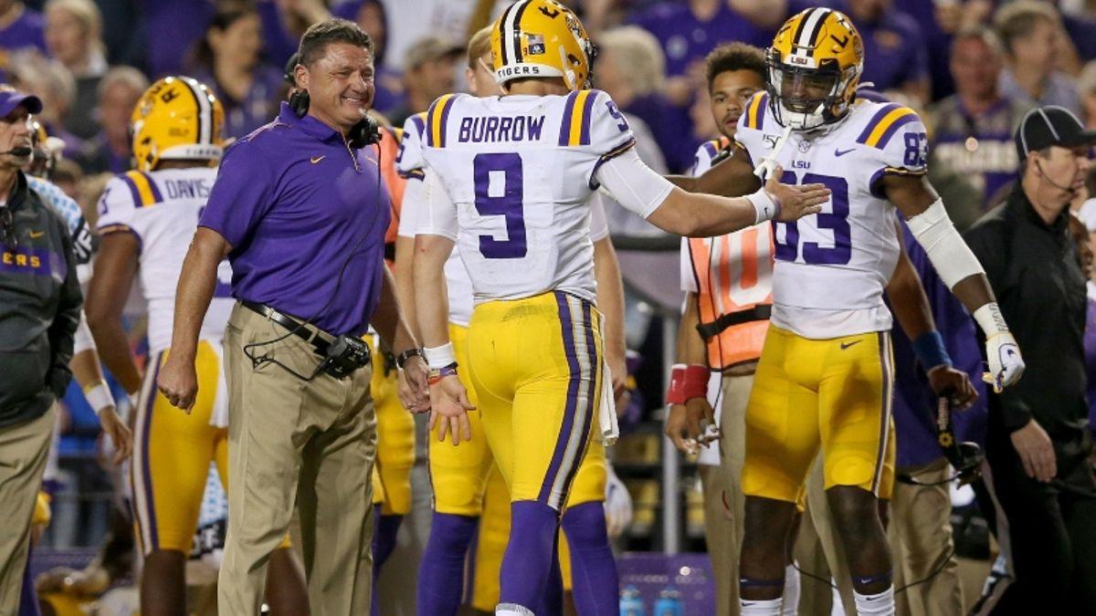 Auburn vs. LSU Odds & Picks: Is This Joe Burrow's Toughest Test Yet? article feature image