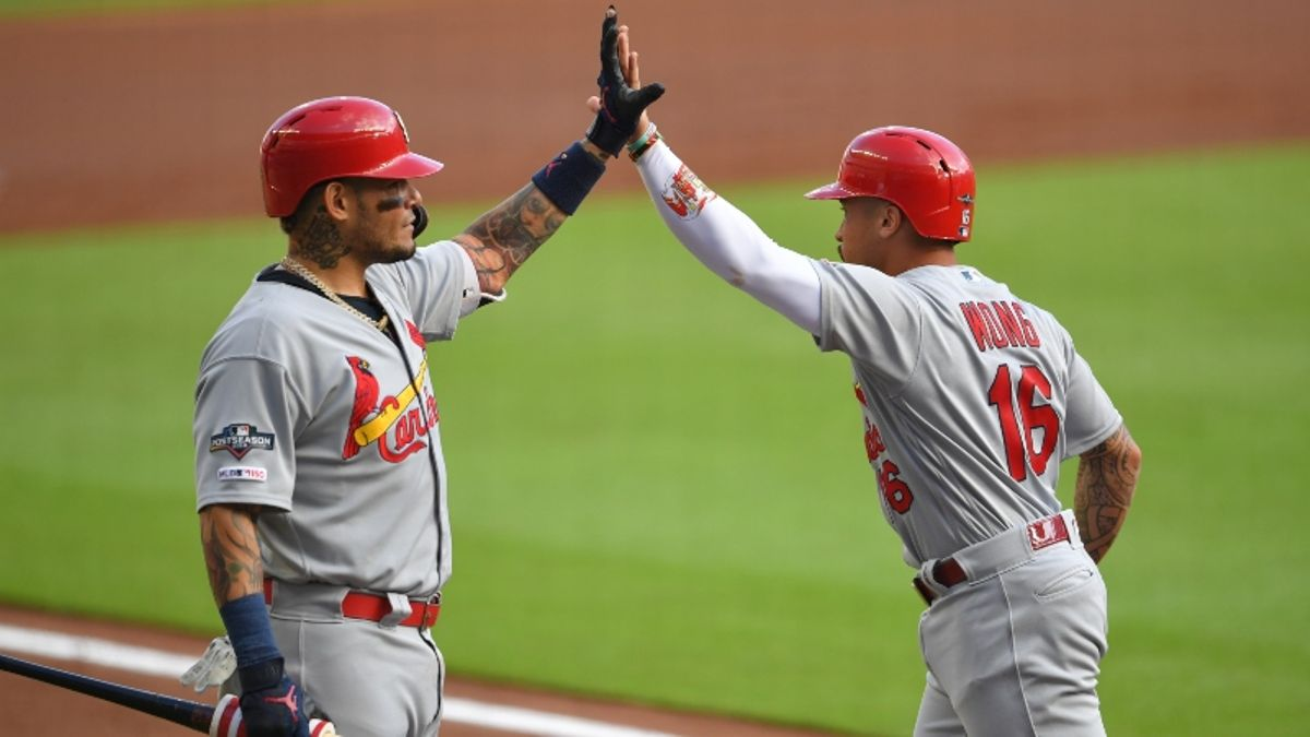 How Sharps Are Betting Nationals vs. Cardinals NLCS Game 1 article feature image