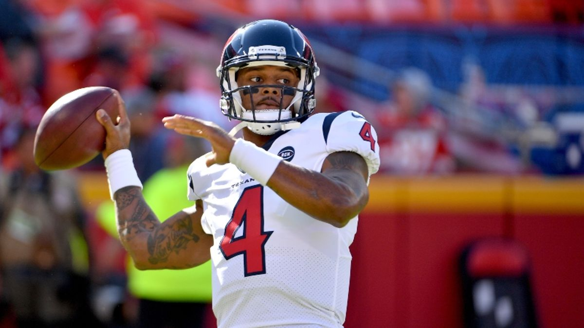 Texans vs. Colts Betting Odds & Picks: Deshaun Watson Undervalued? article feature image