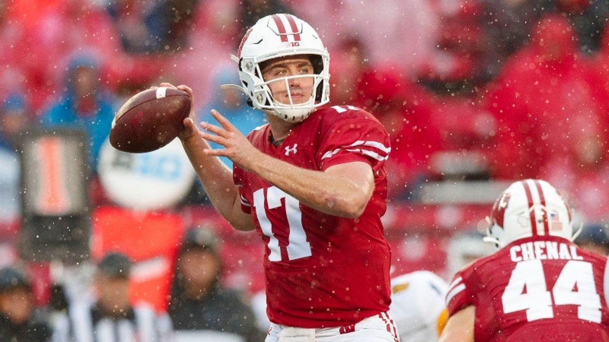 Michigan State vs. Wisconsin Forecast & Odds: Nasty Weather Expected at Camp Randall Stadium article feature image