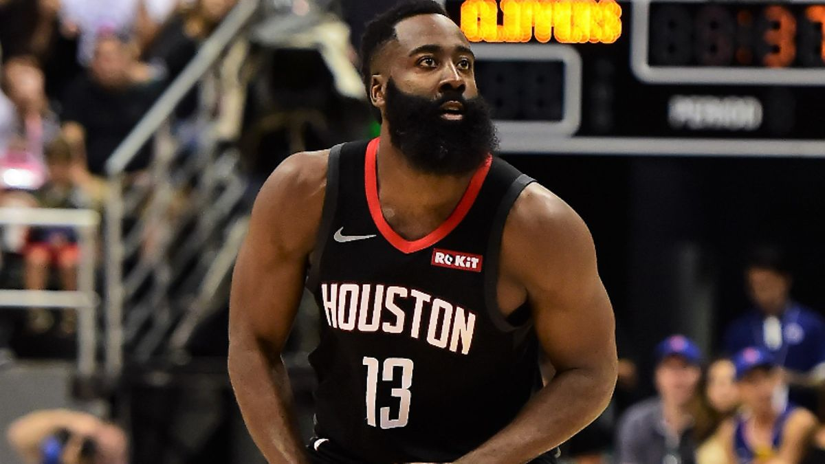 James Harden's NBA MVP Odds: Will Houston Lock Up 1-Seed in West? article feature image