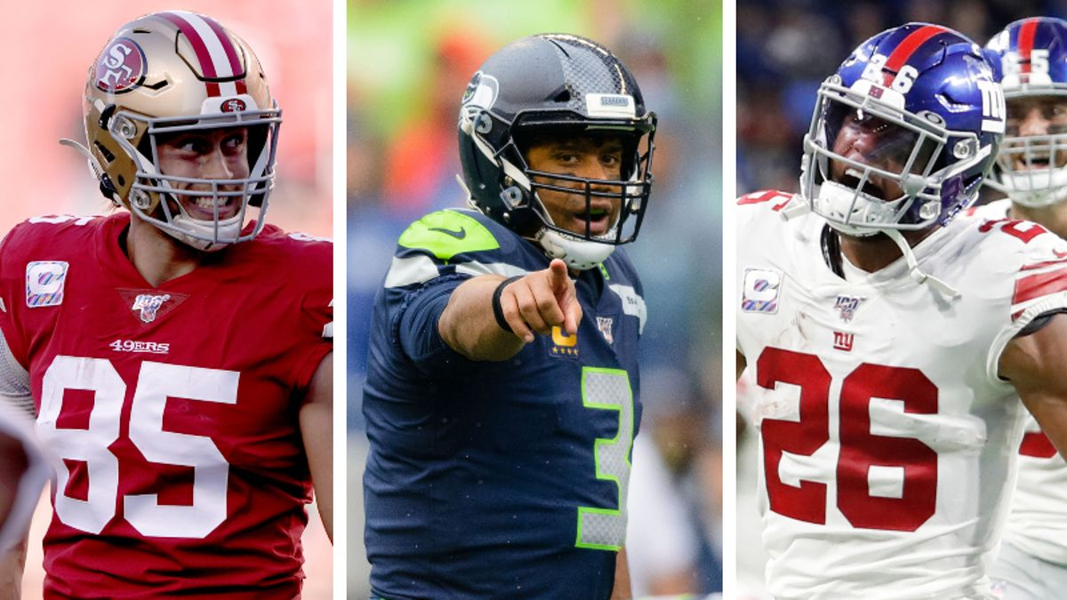 Koerner's Fantasy Football Tiers: Ranking Week 9 QBs, RBs, WRs, TEs, More article feature image
