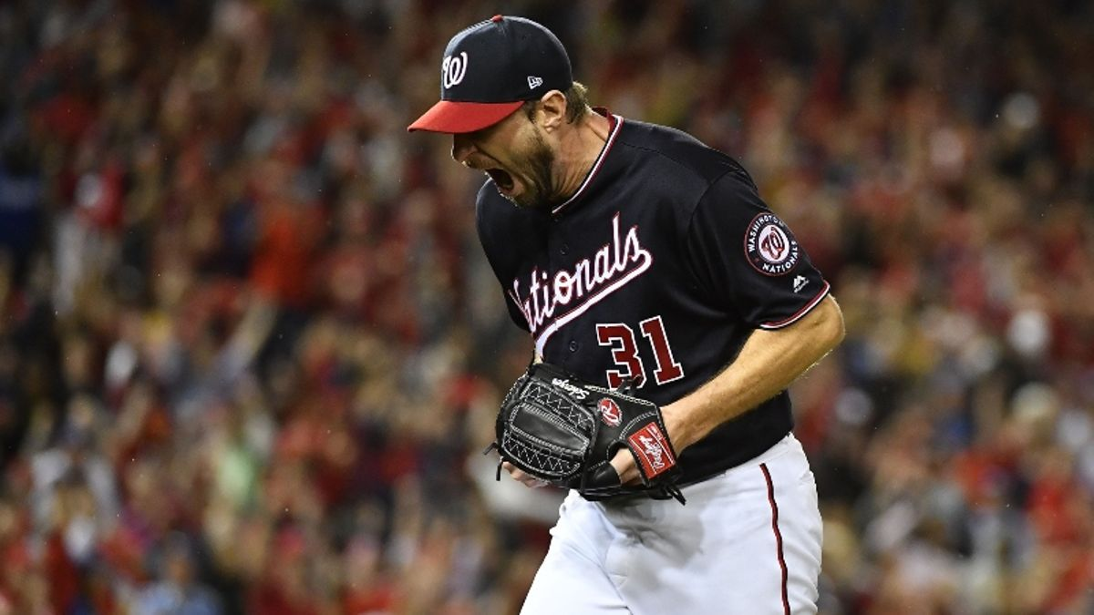 Astros vs. Nationals World Series Game 1 Betting Odds, Picks & Preview: Will Scherzer Keep Up With Cole? article feature image