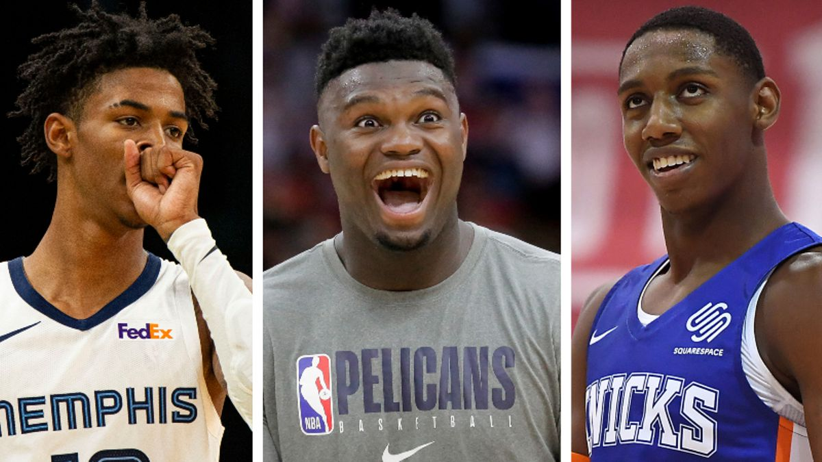 Our Staff's Favorite NBA Rookie of the Year Bets: Is it Zion Williamson or Bust? article feature image