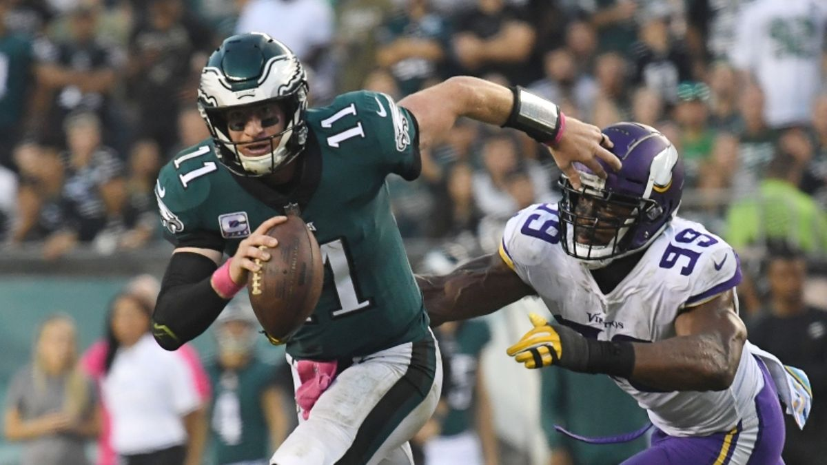 Koerner: How I'm Looking to Live Bet Eagles-Vikings article feature image