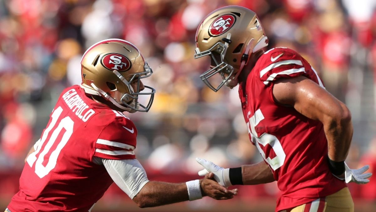 49ers vs. Cardinals Betting Odds & Preview: Can You Trust SF As A Large Favorite? article feature image