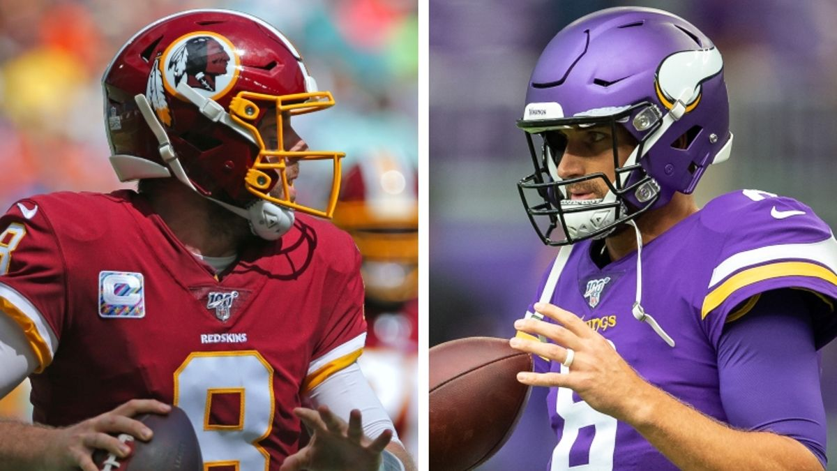 Redskins vs. Vikings Odds & Picks: Can Minnesota Cover This Massive Spread? article feature image