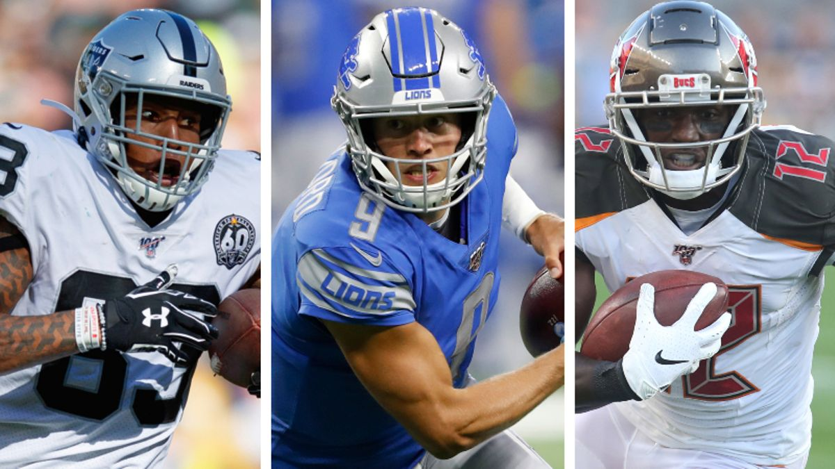 Koerner's Week 8 Fantasy Football Tiers: Ranking QBs, RBs, WRs, TEs, More article feature image