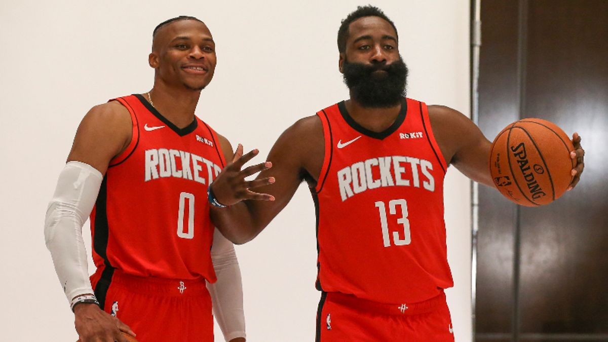 Rockets 2019-20 Season Win Total: How Far Can the Westbrook-Harden Duo Go? article feature image