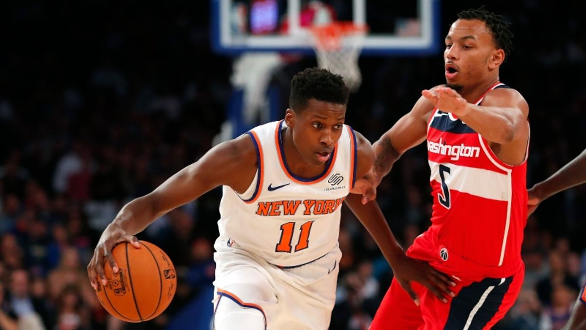 Thursday's Best NBA Player Prop Bets: Frank Ntilikina Is Figuring It Out article feature image