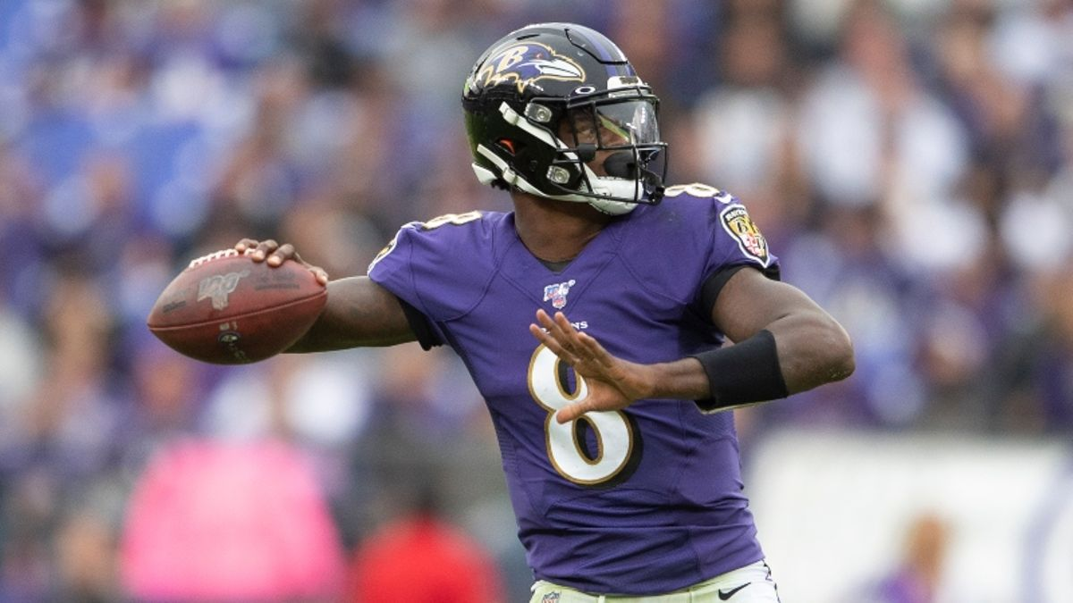 Patriots vs. Ravens Prop Bets & Picks for Sunday Night Football article feature image