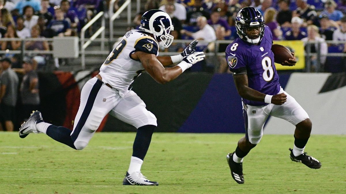 Ravens vs. Rams Betting Odds, Pick: MNF Spread Offering Value article feature image