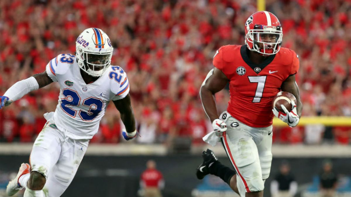 Georgia vs. Florida Odds, Pick & Prediction: Can Gators Stop Bulldogs Ground Game? article feature image