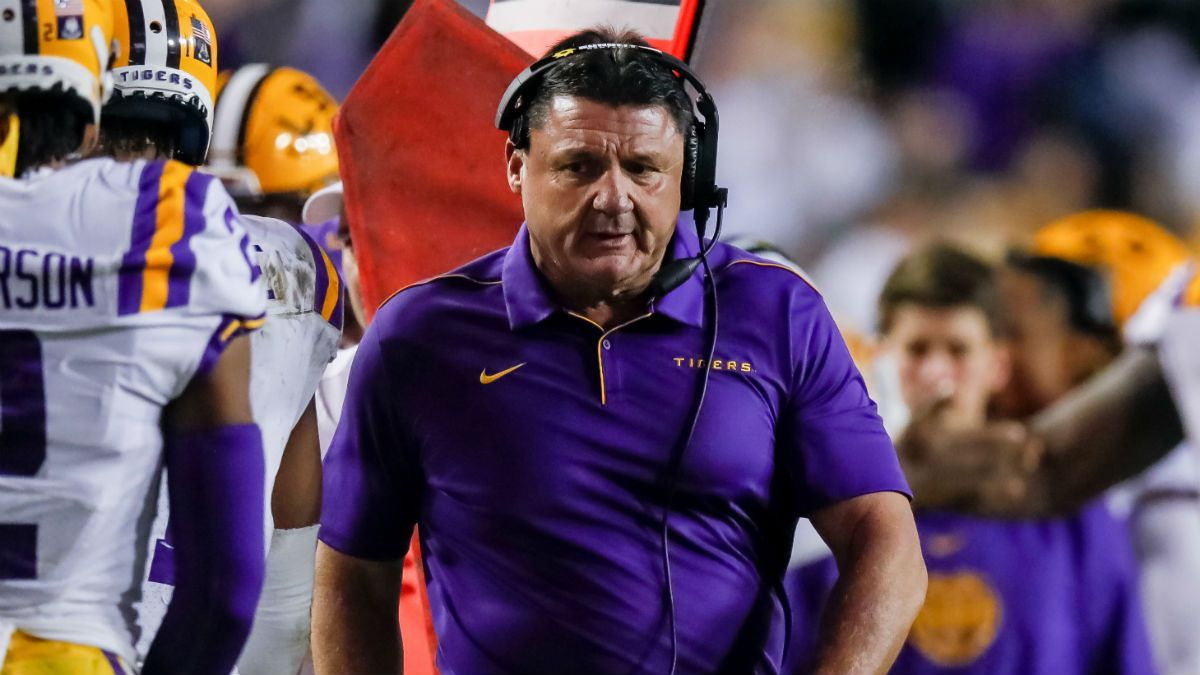Texas A&M vs. LSU Odds & Pick: Will Tigers Finish Perfect Regular Season? article feature image