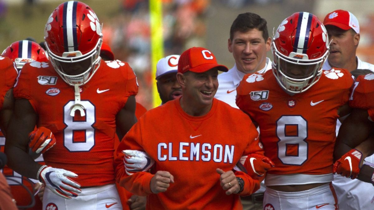 2019 ACC Championship Game Odds: Will Clemson vs. Virginia Turn Into a Laugher? article feature image